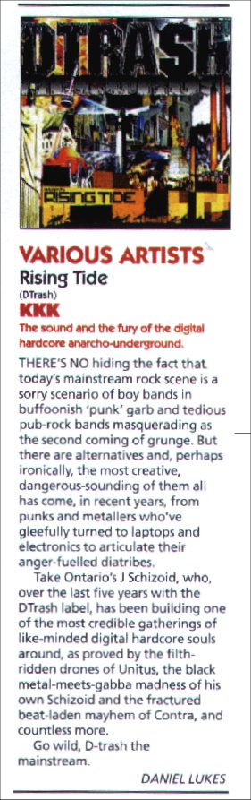 "REVIEW: ""Rising Tide Compilation"" @ Kerrang Magazine"