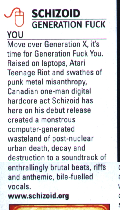 "REVIEW: ""Generation Fuck You"" Video @ Kerrang Magazine"